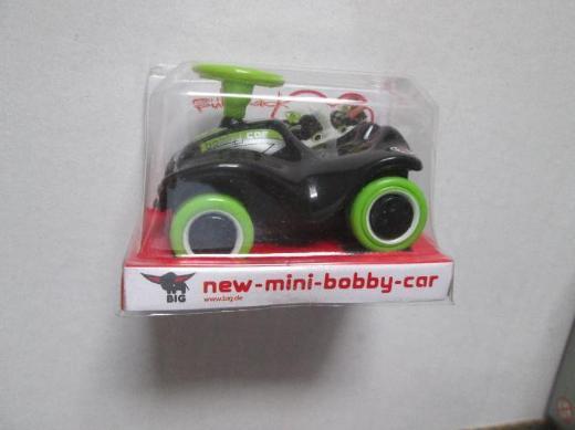 BIG new mini Bobby Car mit Rückzugsmotor
