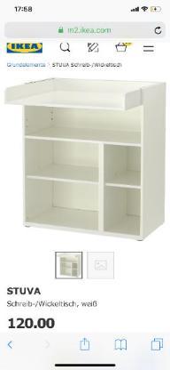 IKEA STUVA WICKEL-/ SCHREIBTISCH WIE ABB.