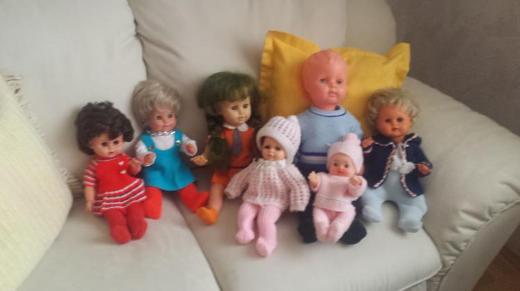 Puppen aus den 70er Jahren