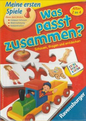 Was passt zusammen-Ravensburger-NEU & OVP