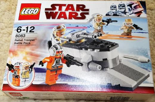 Lego Star Wars-TM Rebel-Trooper-Battle-Pack, Set Nr. 8083