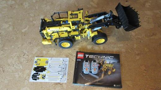 Neuwertiger Lego Technik Radlader
