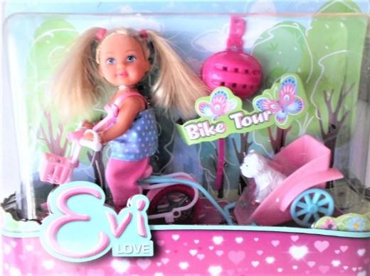 "Evi Love - Puppen-Spielset ""Bike Tour""-NEUWARE"