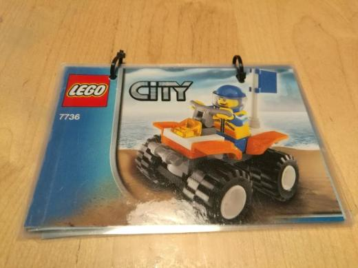 LEGO City Quad 7736