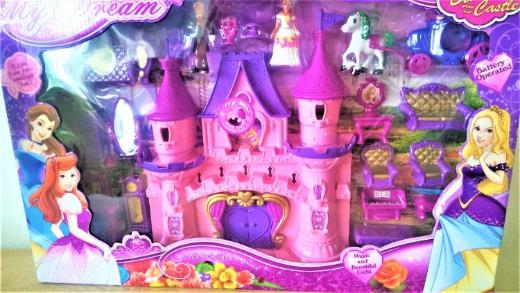 Schlossspielset My Dream mit Licht und Sound