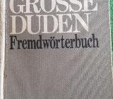 """""""Der große Duden – Fremdwörterbuch – Band 5"""", 771 Seiten, Dudenverlag, ISBN: 3411009055, stammt aus 1971, guter Zustand, 7,- € in 91364"""