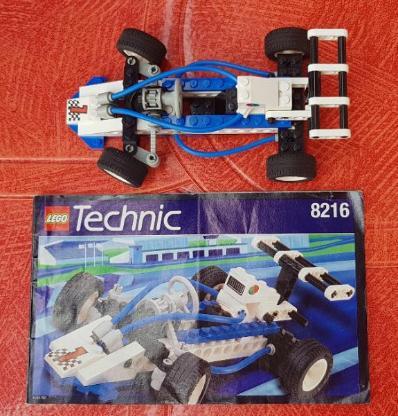 LEGO Technic 8216 Formel 1 Racer (inkl. Bauanleitung)