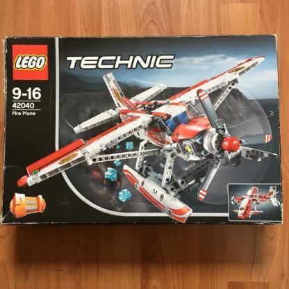 Lego Technik Fire Plane 42040 Fugzeug, Hubschrauber
