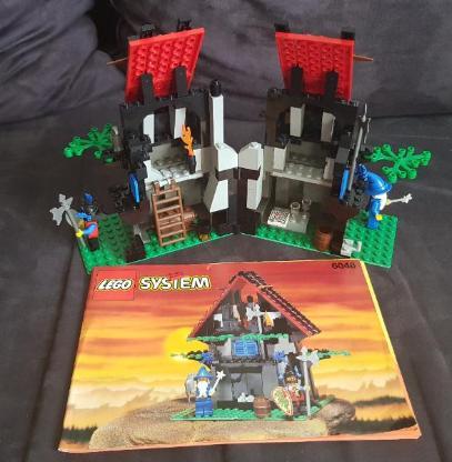 LEGO 6048 Majisto's Magical / Hexenmeisterwerkstatt (inkl. Bauanleitung)