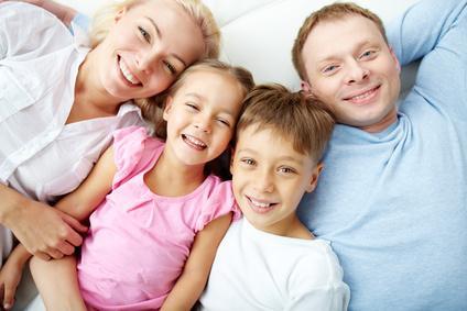 Bild Nachhaltigkeit - Familie mit Kindern
