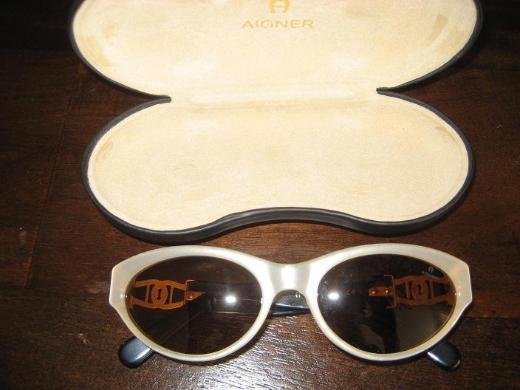 Aigner Damen Sonnenbrille Perlmutt