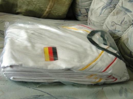 T-Shirt Deutschland auch für Frauen FIFA World Cup Germany 2006 weiß Gr. L NEU
