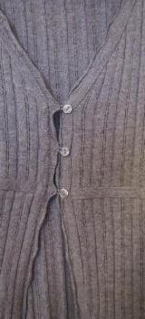 Strickjacke, sehr schön, grau / Designer`s - Essen