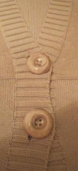 Strickjacke, Gr.40/M, beige / Ambei - Essen