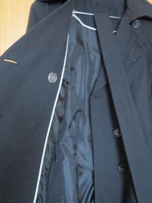 Trenchcoat, Gr.42/44, schwarz, NEUWERTIG - Essen