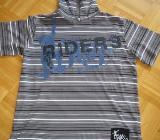 Shirt mit Kapuze, Gr.38/S, Kurzarm - Essen