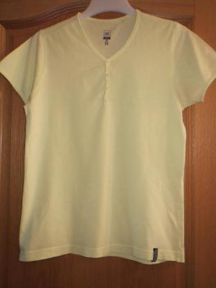 T-Shirt, Gr.36/ XS, Kurzarm, gelb