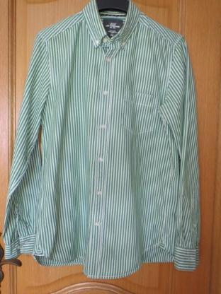 Hemd, gestreift, Gr.38/S, Langarm
