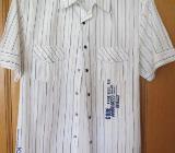 Hemd, gestreift, Gr.40/M, Kurzarm - Essen