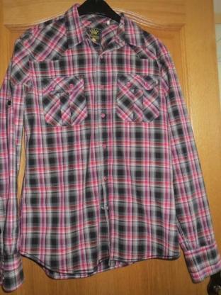Hemd, Gr. 36/ S-M, sportlich, von Fishbone