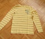 T-Shirt, Gr.38/S gesrteift, gelb-schwarz - Essen