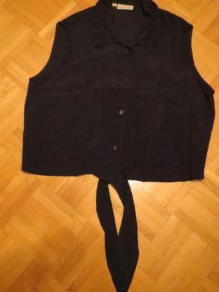 Bluse von Barisal, Gr.42/M, sehr feminin, schwarz