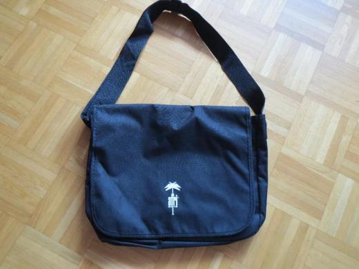 Laptoptasche, Schultasche, schwarz