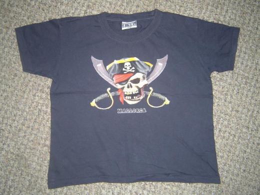 Kinder Piraten T-Shirt (Mallorca) ~Gr. 140