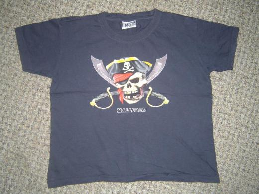 Kinder Piraten T-Shirt (Mallorca) ~Gr. 140