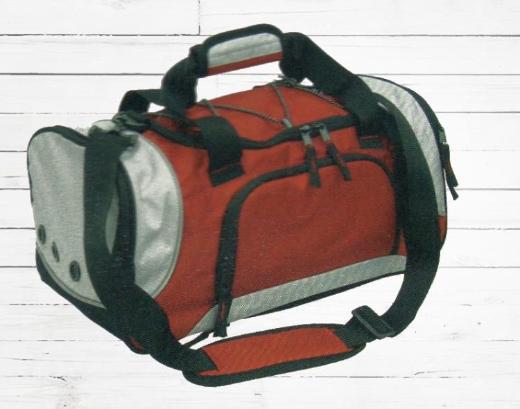 Sporttasche Rot-Schwarz-Grau