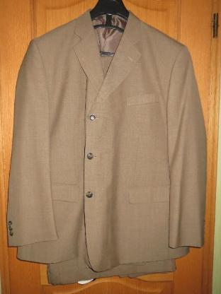 Anzug, 4-teilig, cappuccino, Gr.58/59
