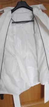 Trenchcoat, neu, Gr.42/44, weiß - Essen