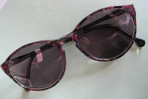 Da-Sonnenbrille M E T Z N E R-C A L W, ungetragen