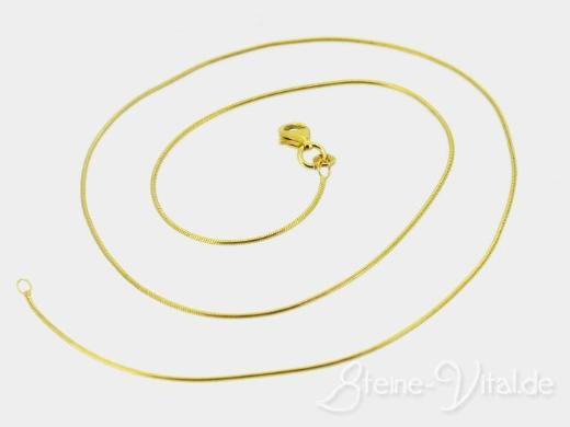 585er Gold Schlangenkette, gebrauchter Schmuck (419)