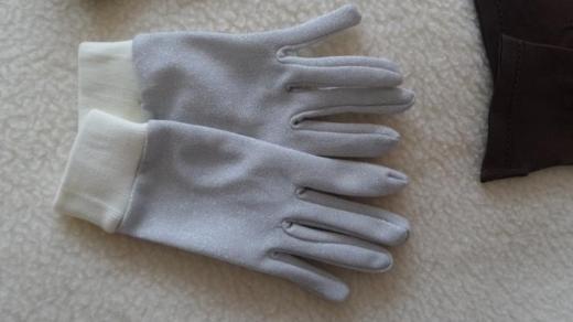 Aus Kla Handschuhe Finger metallic