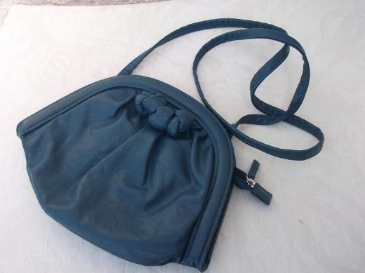 Damen Schultertasche H&M, blau