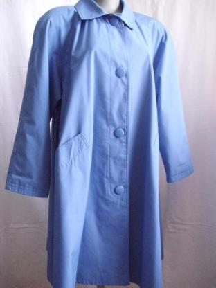 Trenchcoat Astor Swing royalblau Gr. 40