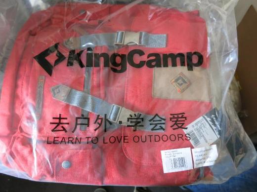 KINGCAMP® Yellowstone Rucksack 15l rot NEU&OVP - Herzogenrath