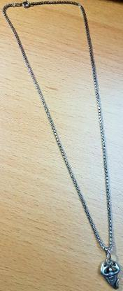 3 x Stück 925 Sterling Silber Ketten PlayBoy, Herz, Skorpion Anhängern - Verden (Aller)