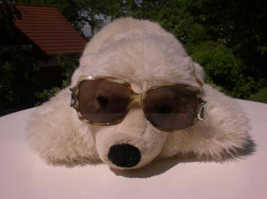 Sonnenbrille Damen Retro 70er/80er Jahre