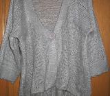 Pullover, Strickjacke, sehr schön, grau, Gr.42/M - Essen