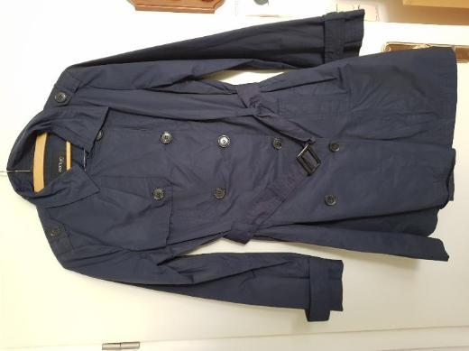 Trenchcoat Damen Dunkelblau Gr. 38