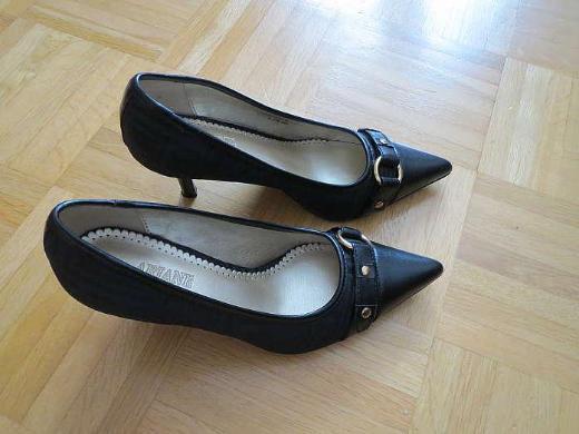Schuhe, Pumps, Gr.37, hoch, schwarz, neuwertig