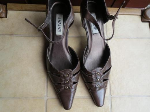 Schuhe, Pumps, Gr.37, braun