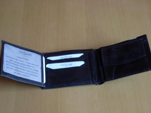 NEU : Damen Geldbörse- Portmone ECHT LEDER braun
