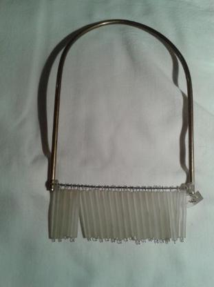Halskette Metall/Glas