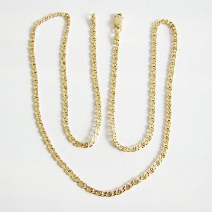 Halskette Gold 375er Goldkette Herren Damen Goldschmuck 4012