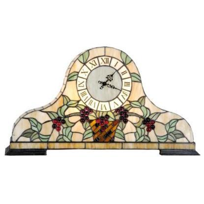 7486 Tiffany Uhr Tischuhr 0,56 m - Kostenloser Versand