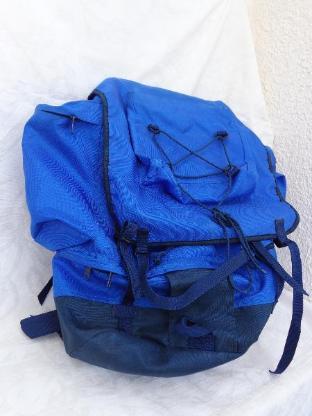 Rücksack, blau