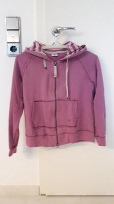 Sweatjacke in rosa - Calden